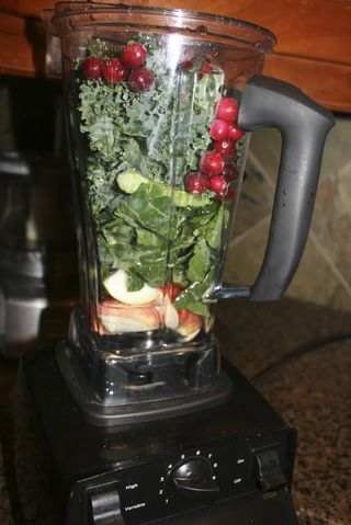 Wintergreen smoothie vitamix