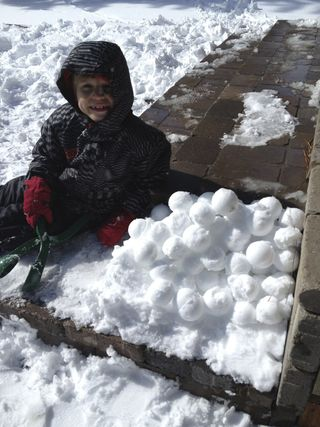 Snowball ready