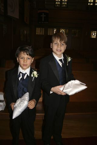 2 handsome ringbearers